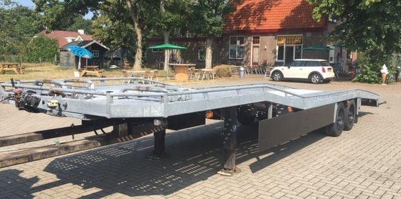 autotranspoirter mini sattel semi-trailer