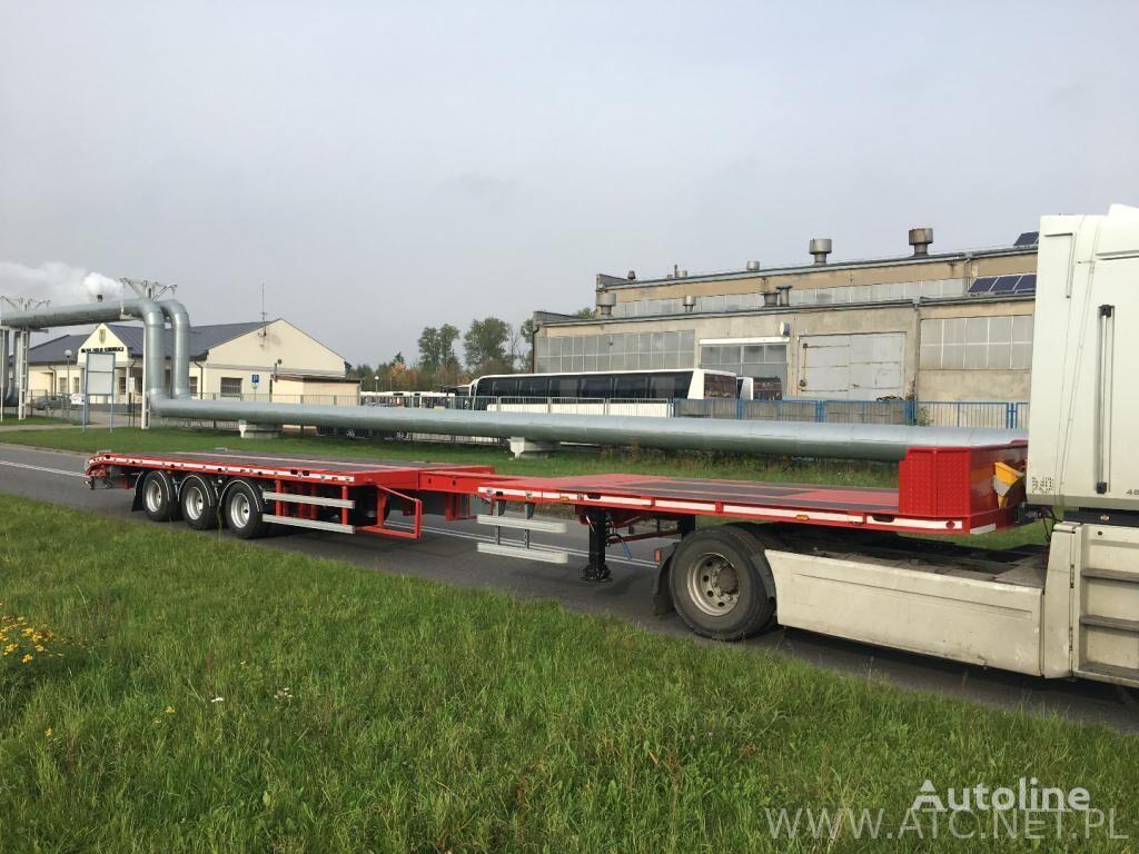 new ATC ANN3/P  platform semi-trailer