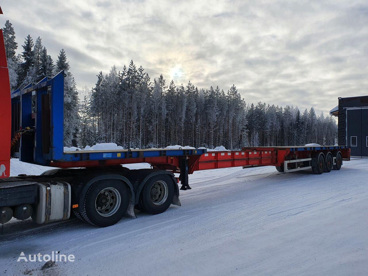LAG O-3-40 US platform semi-trailer