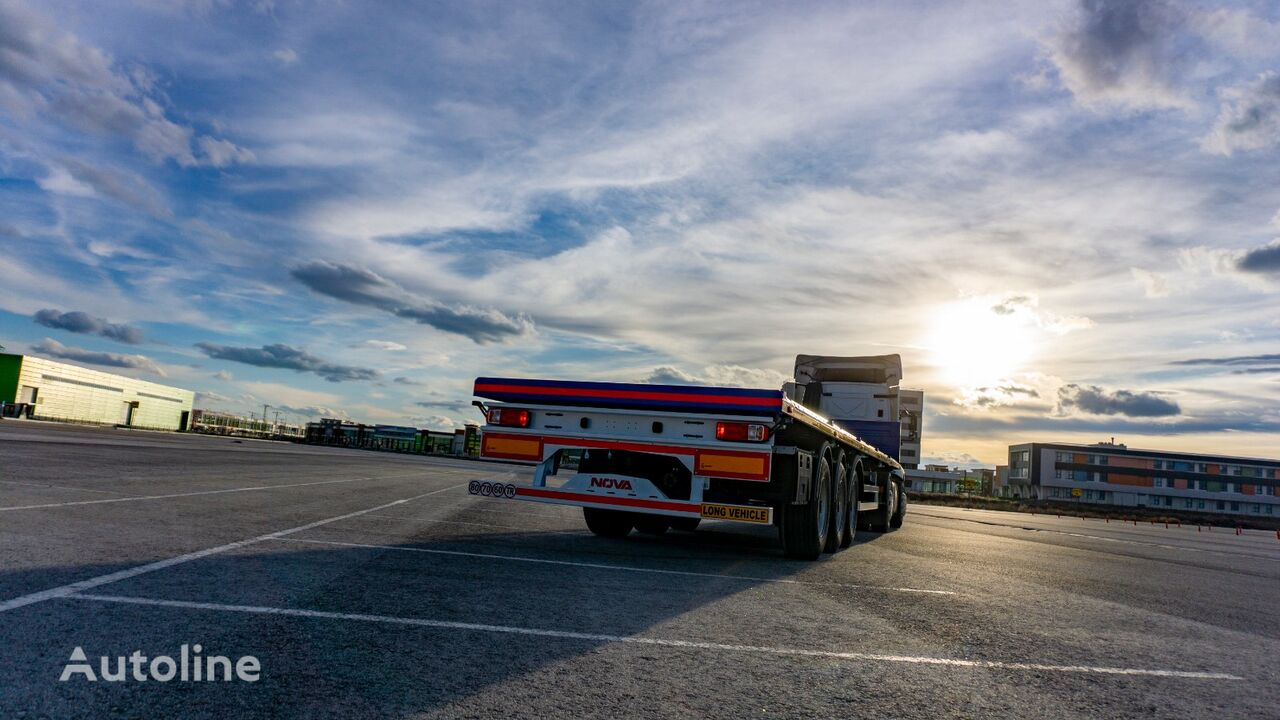 new NOVA NEW PLATFORM SEMI TRAILER PRODUCTION platform semi-trailer