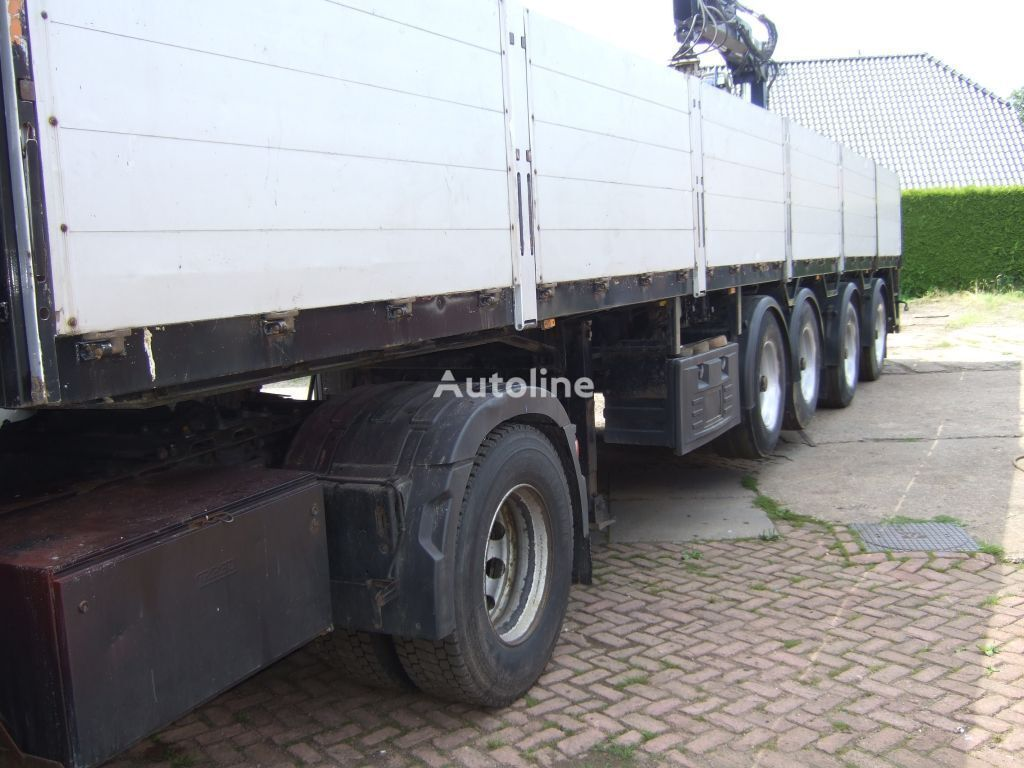 PACTON kraanoplegger ook te huur platform semi-trailer