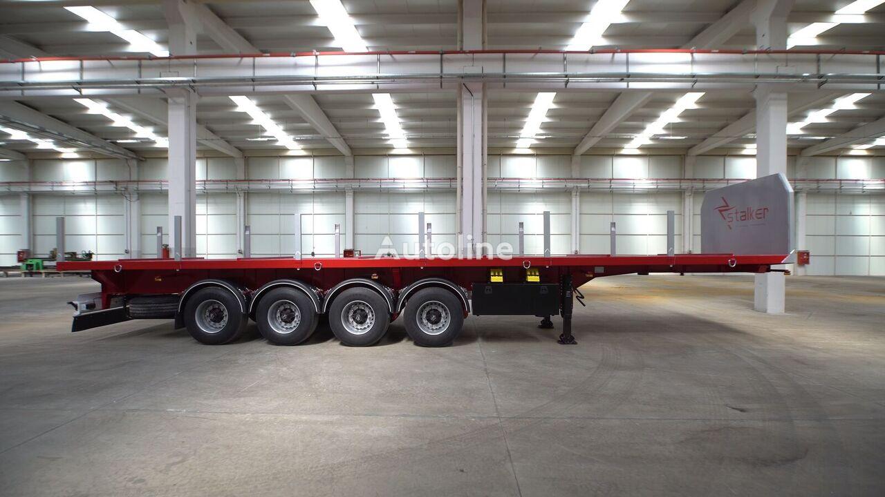new SINAN TANKER-TREYLER Flat Bed - Special Tipper Platform platform semi-trailer