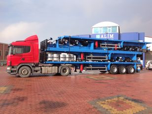 new ALİM DORSE 2021 Model Flatbed Trailer for Container and Pipe Transport platform semi-trailer