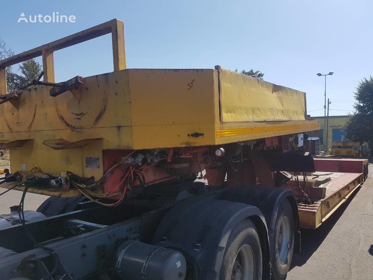 BROSHUIS 3AVV-48, saf-gigant,vys. 0.5m., dl. 17.5 m. platform semi-trailer