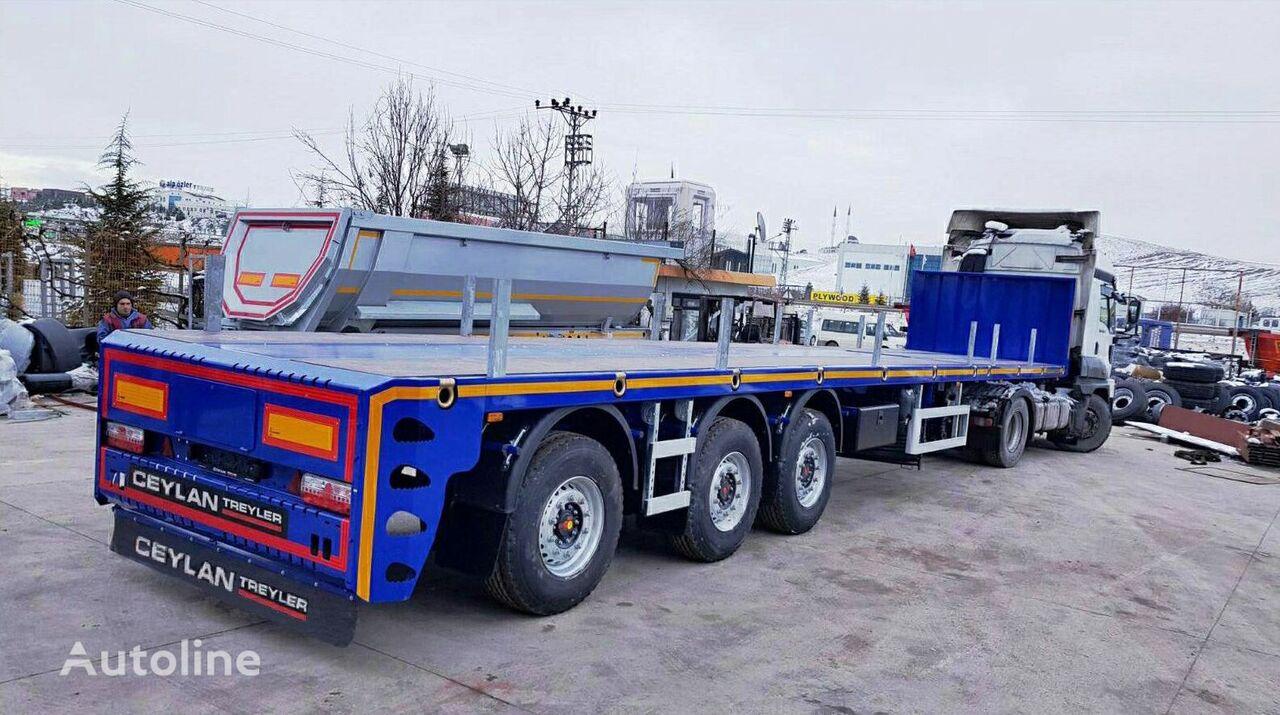 new CEYLAN FLATBED  platform semi-trailer