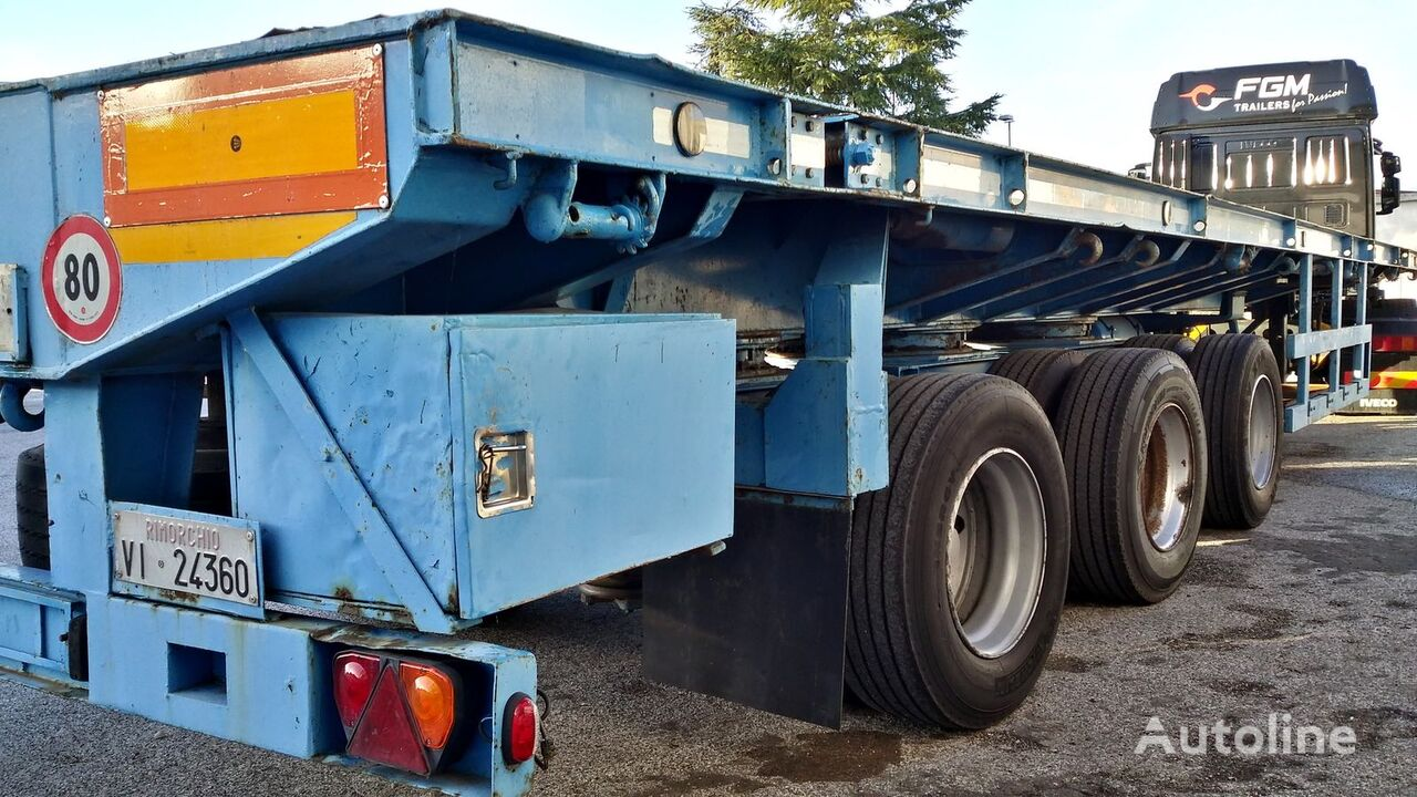 Capperi  SPS49N platform semi-trailer