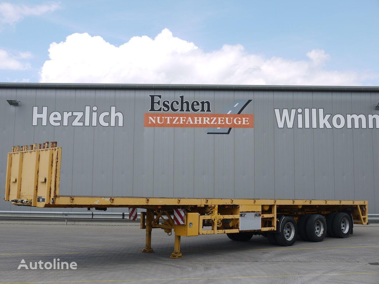 ES-GE 3H. 13 3 VOD 18-30, teleskopierbar, Obj.-Nr.: 0086/20 platform semi-trailer