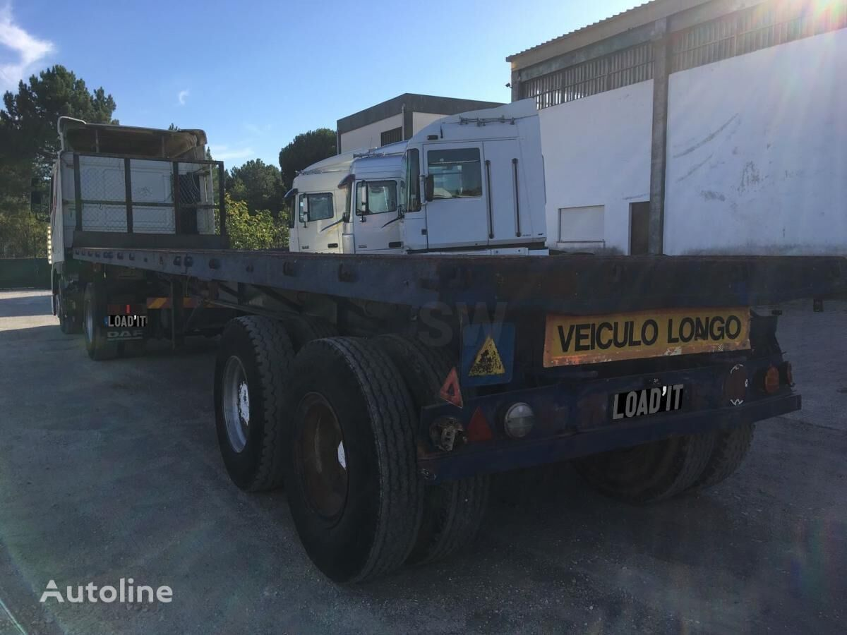 FRUEHAUF 2 Axles 50 TON platform semi-trailer