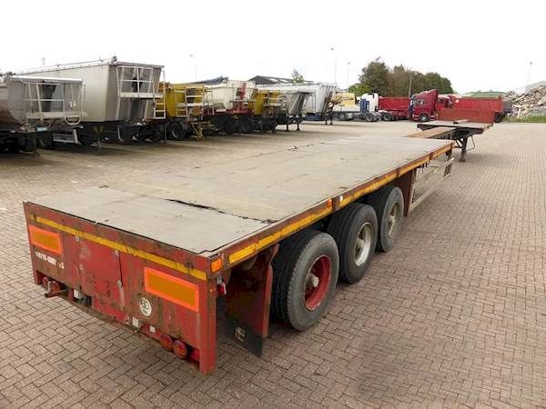 GOLDHOFER 6.8 M EXTENDABLE platform semi-trailer