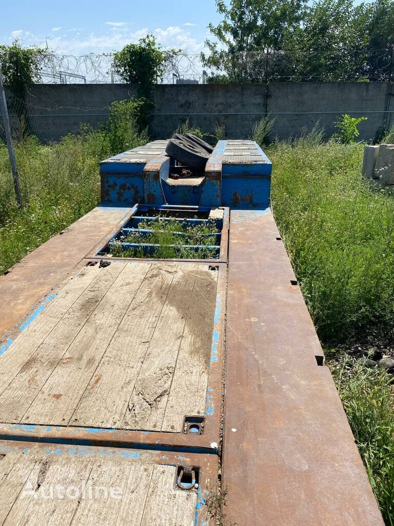 GOLDHOFER STZ-VL4 61 80A platform semi-trailer