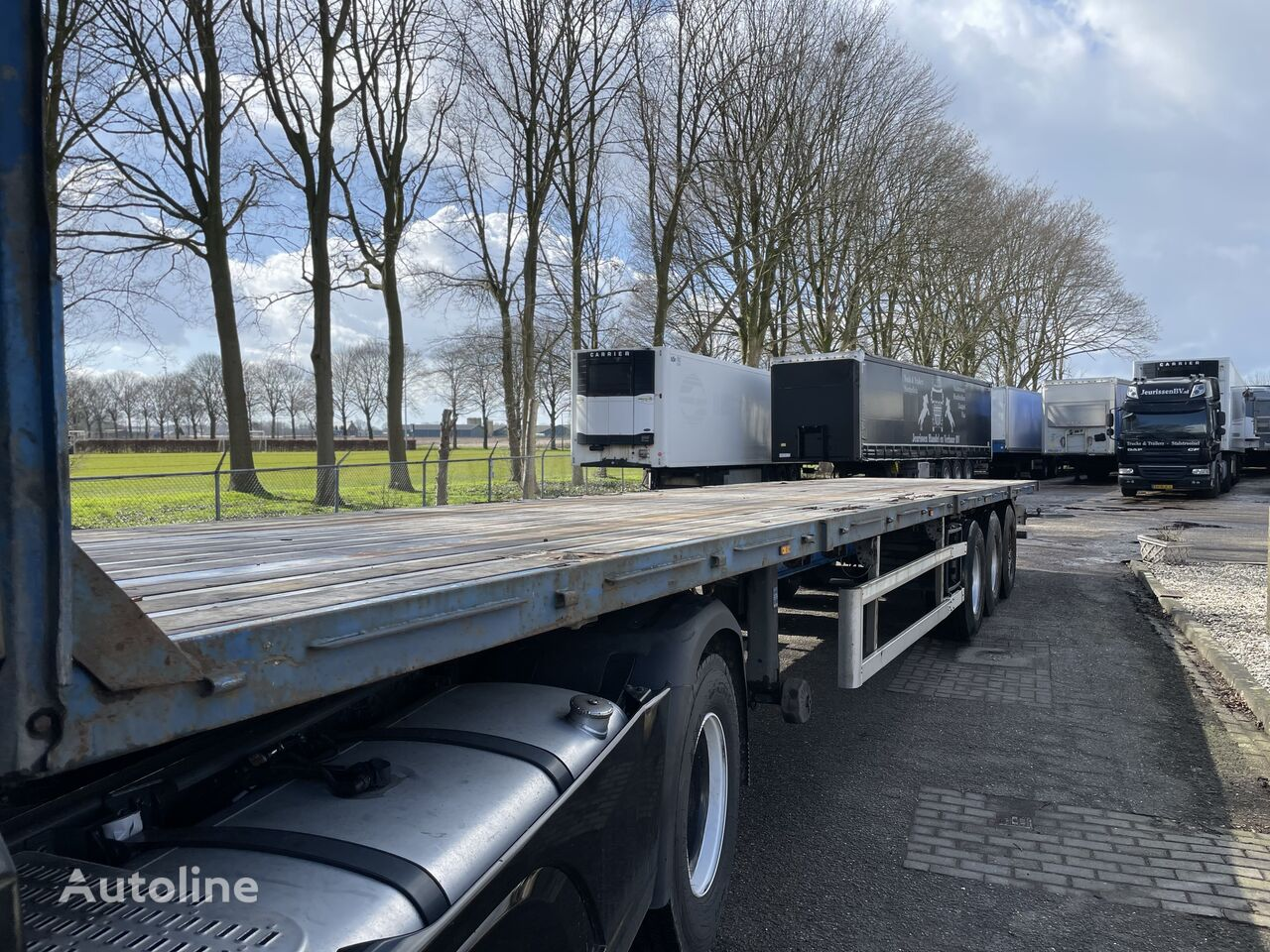 GROENEWEGEN platform semi-trailer