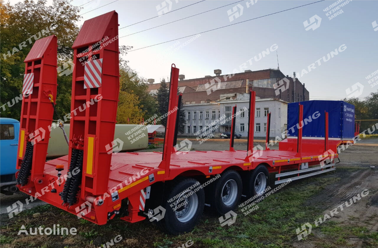 new HARTUNG 94334.650 platform semi-trailer