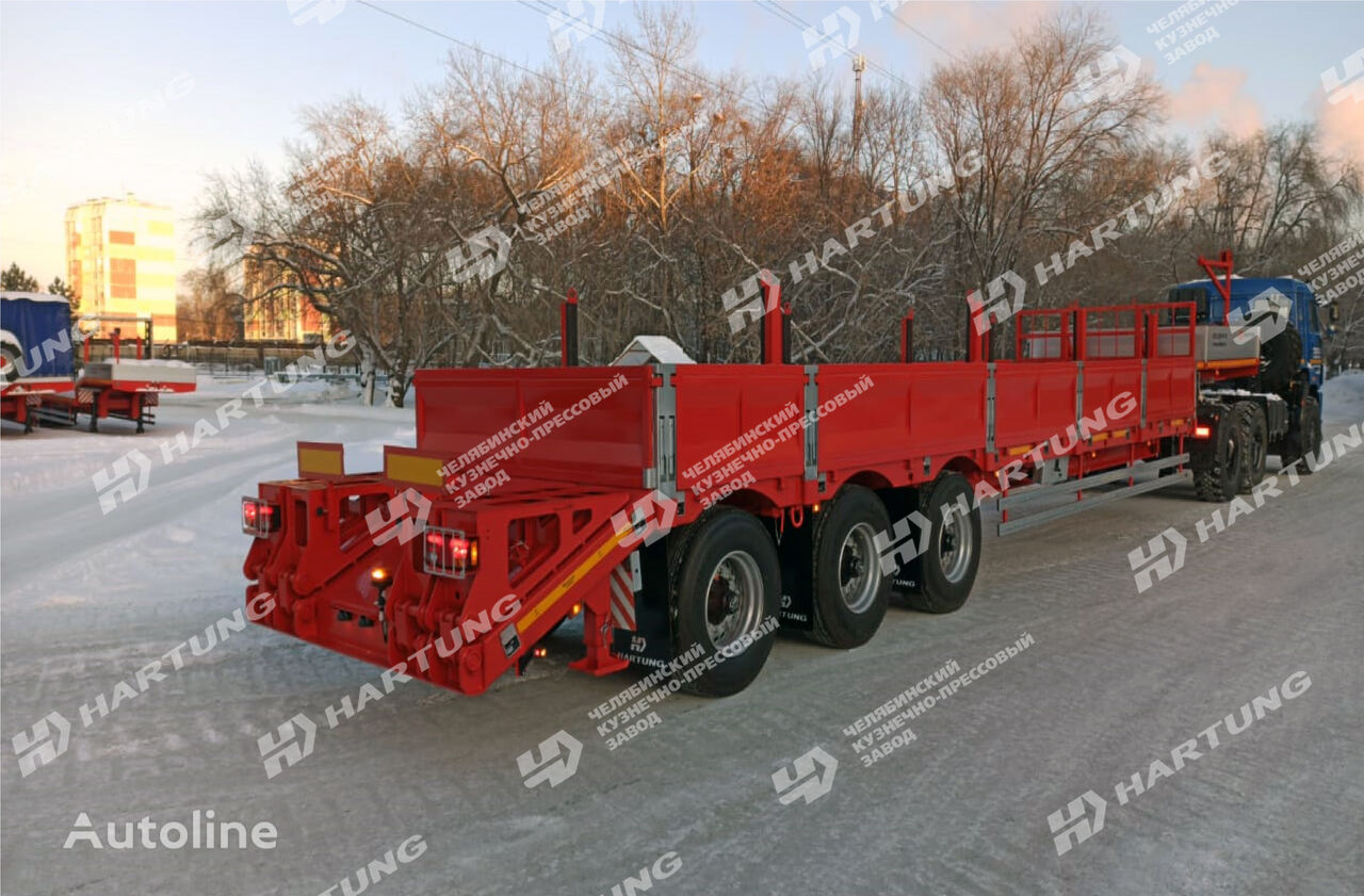 new HARTUNG 94334.787 platform semi-trailer