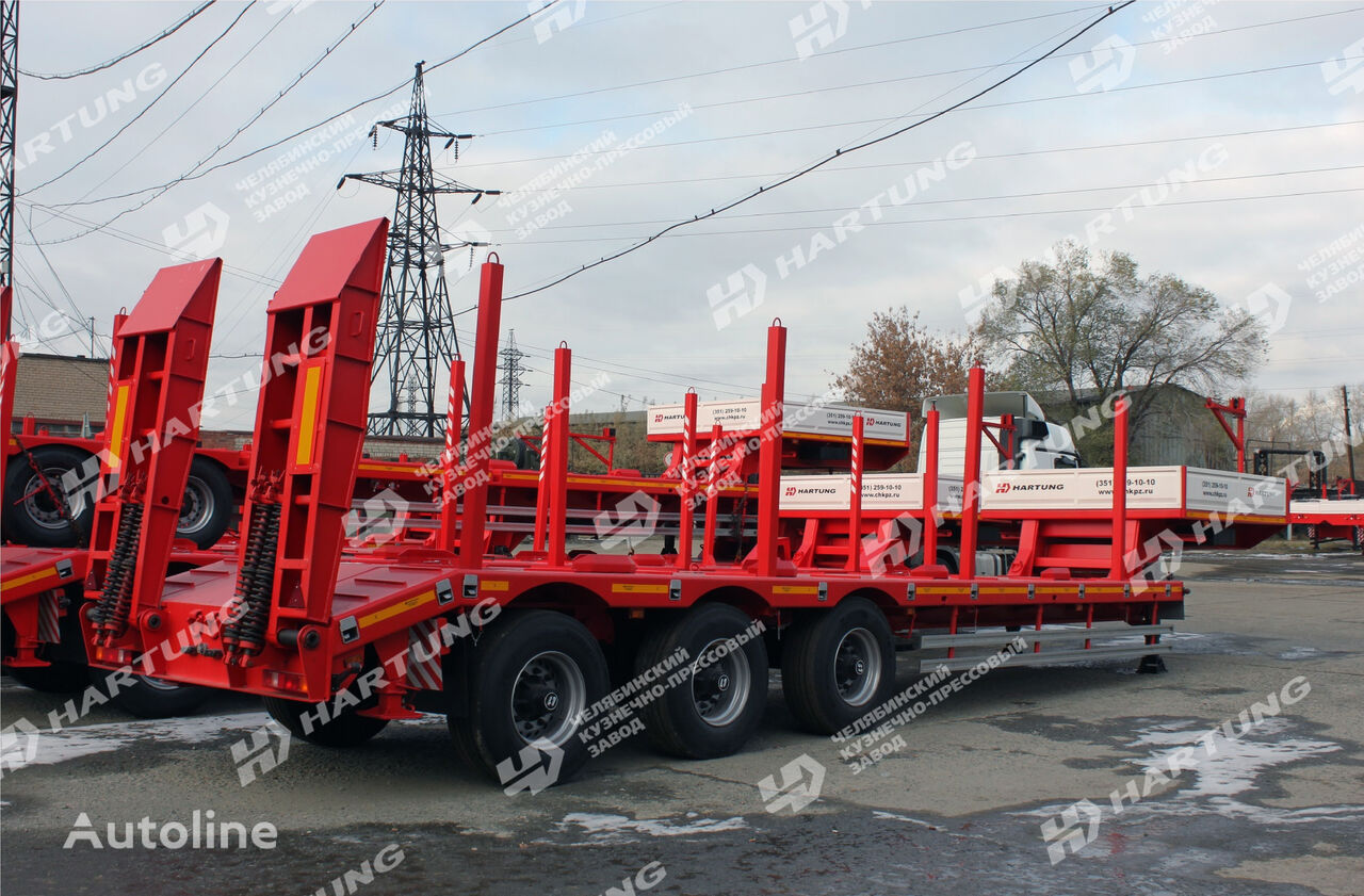 new HARTUNG 94334.807 platform semi-trailer