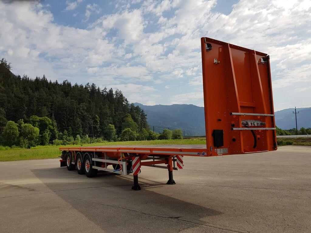 HRD SPLB3N platform semi-trailer