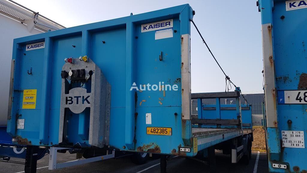 KAISER Flat platform semi-trailer