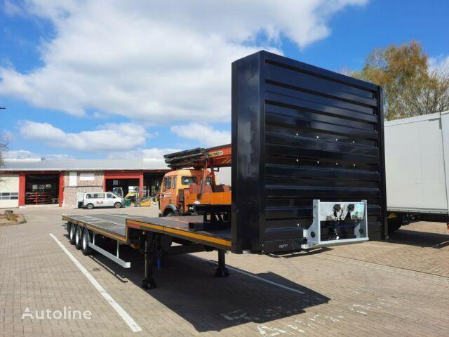 new KASSBOHRER Jumbo Stufensattel mit Twistlocks Container platform semi-trailer