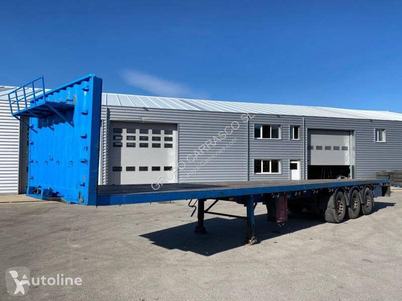 LECI TRAILER 3E 20 platform semi-trailer