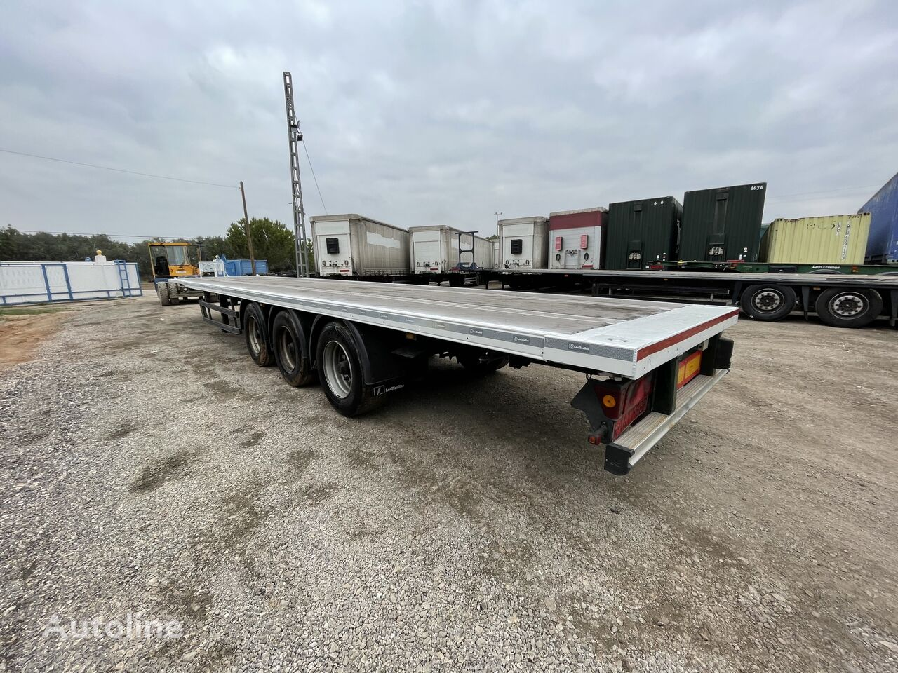 LECI TRAILER 45 platform semi-trailer