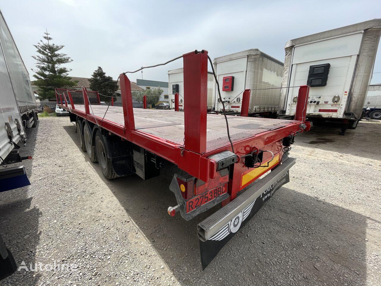 LECI TRAILER PORTABOBINAS platform semi-trailer
