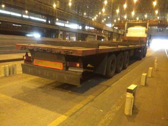 LECINENA SRP-3ED platform semi-trailer