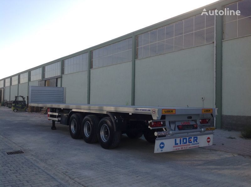 new LIDER 2019 YEAR NEW MODELS containeer flatbes semi TRAILER FOR SALE (M platform semi-trailer