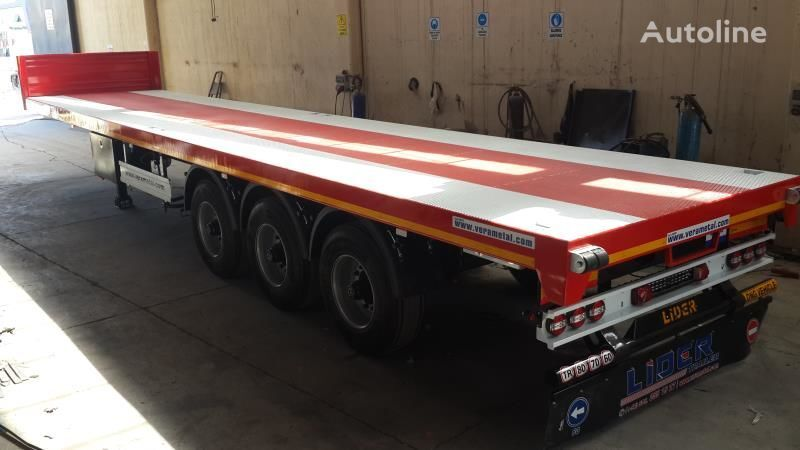 new LIDER 2021 MODEL NEW DIRECTLY FROM MANUFACTURER FACTORY AVAILABLE READ platform semi-trailer