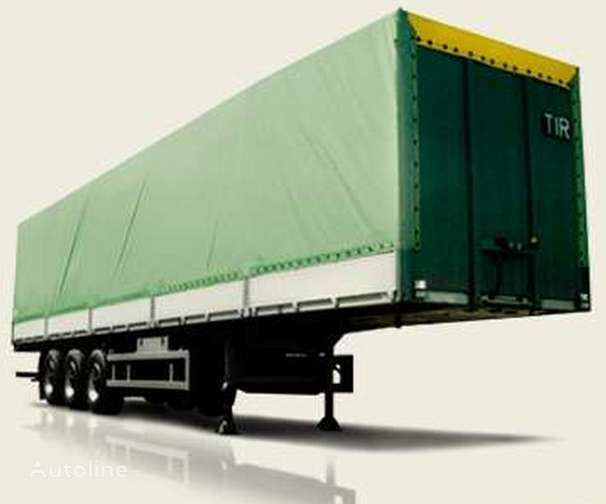 new MAZ 975800 platform semi-trailer