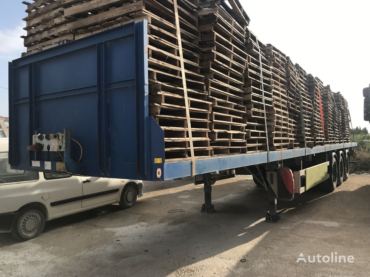 MONTENEGRO SP-3S/3G platform semi-trailer
