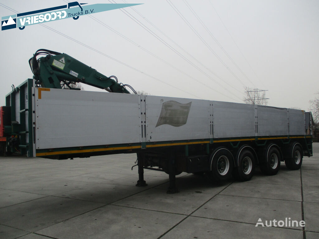 PACTON TTD 450 platform semi-trailer