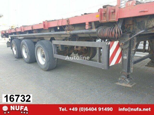 SCHMIDT SP 34, SP, Tele, 2+3. Achse zw-gelenkt platform semi-trailer