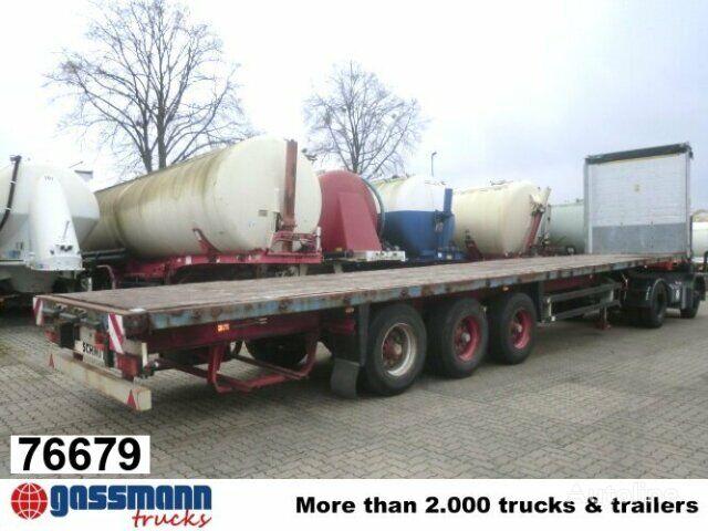 SCHMITZ CARGOBULL Cargobull S / 01 platform semi-trailer