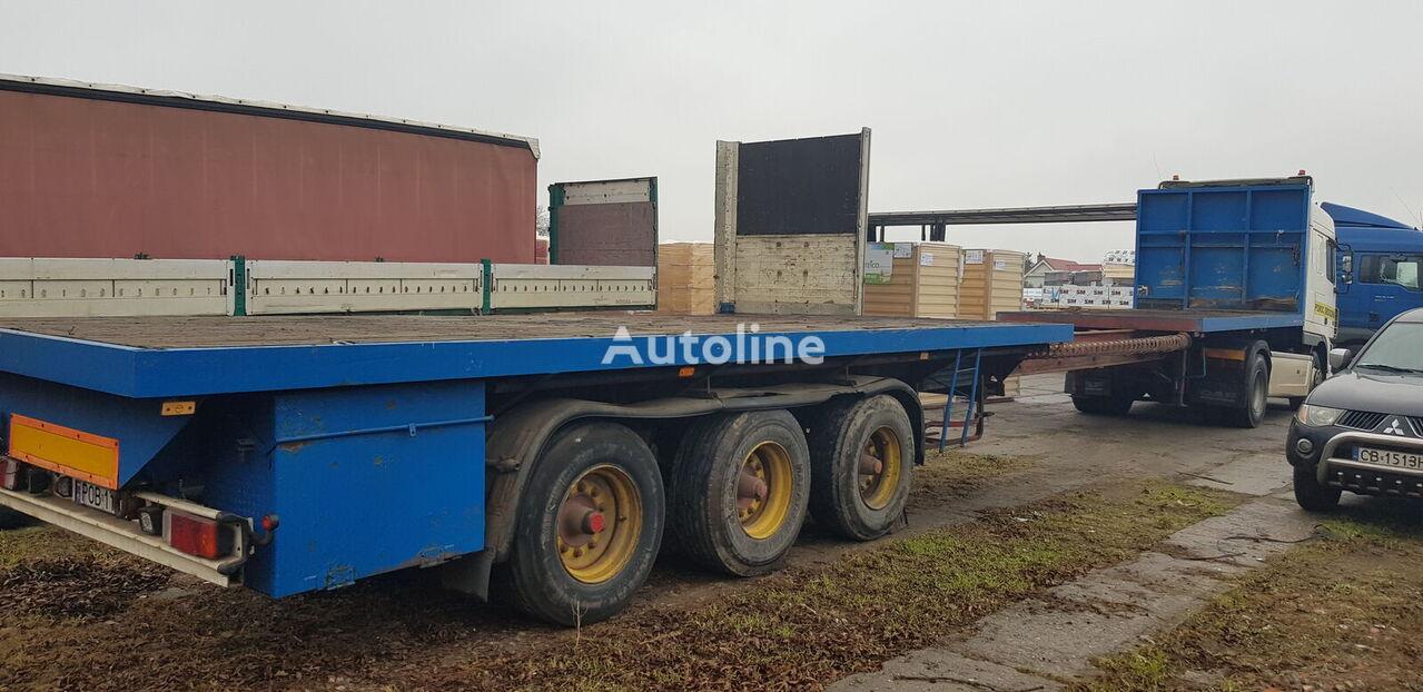 SCHWARZMÜLLER ROZCIAGANA platform semi-trailer