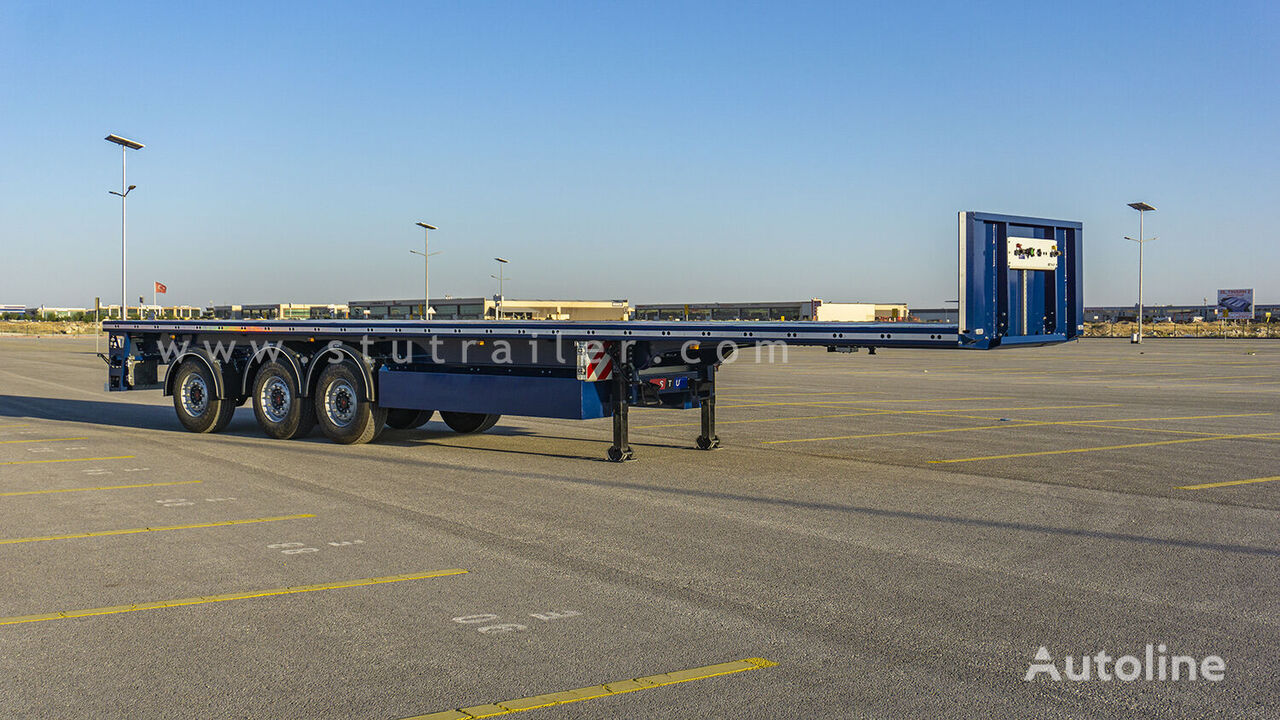 new STU PLATFORM FOR CONCRETE ELEMENTS TRANSPORT platform semi-trailer