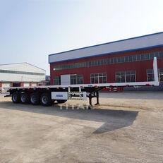 new TITAN Trailers 45-100T platform semi-trailer