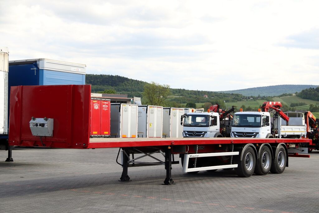 TRAILOR FOR BUILDING / PLATFORM /STRONG FLOOR / platform semi-trailer