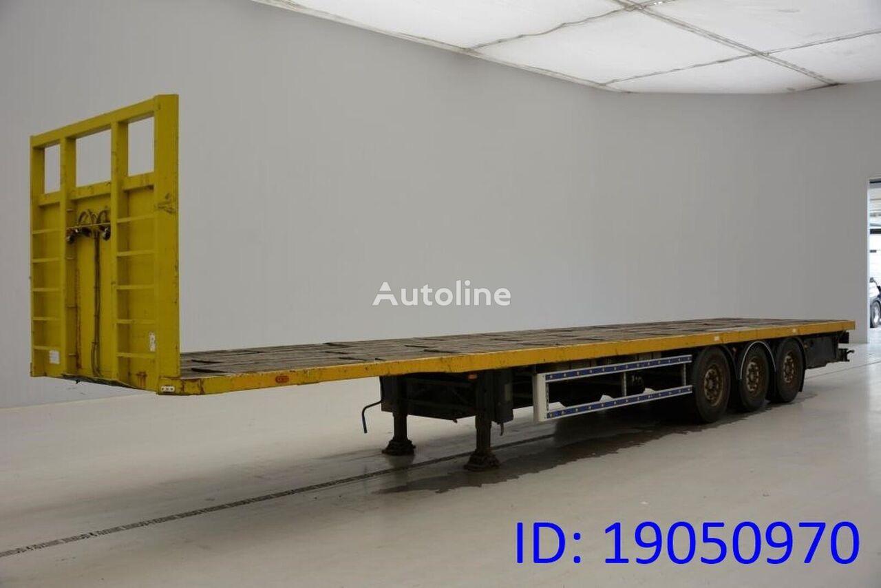 TRAX Plateau coil platform semi-trailer