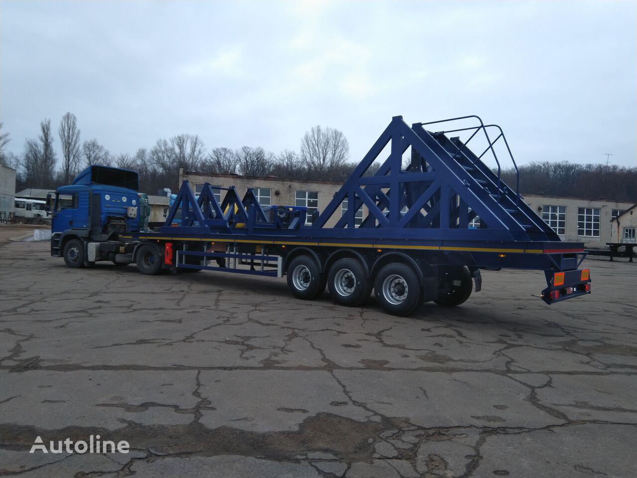 new VARZ NPP 2314 platform semi-trailer