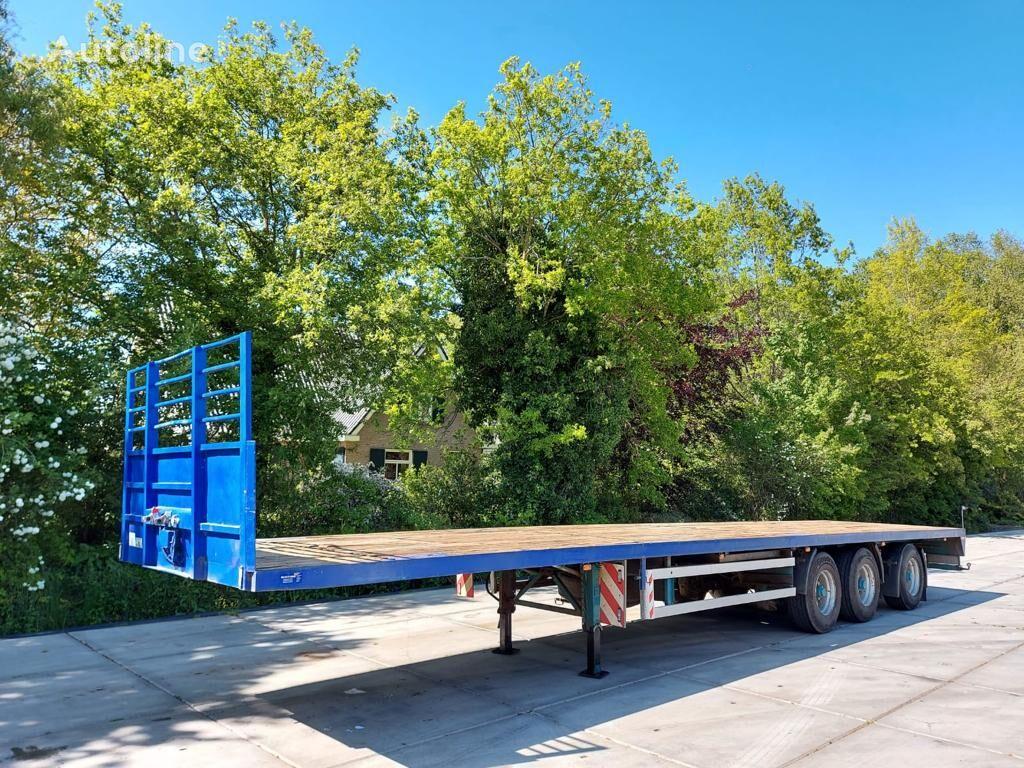 ZWALVE Strong open trailer steering axle apk 6-2022 platform semi-trailer