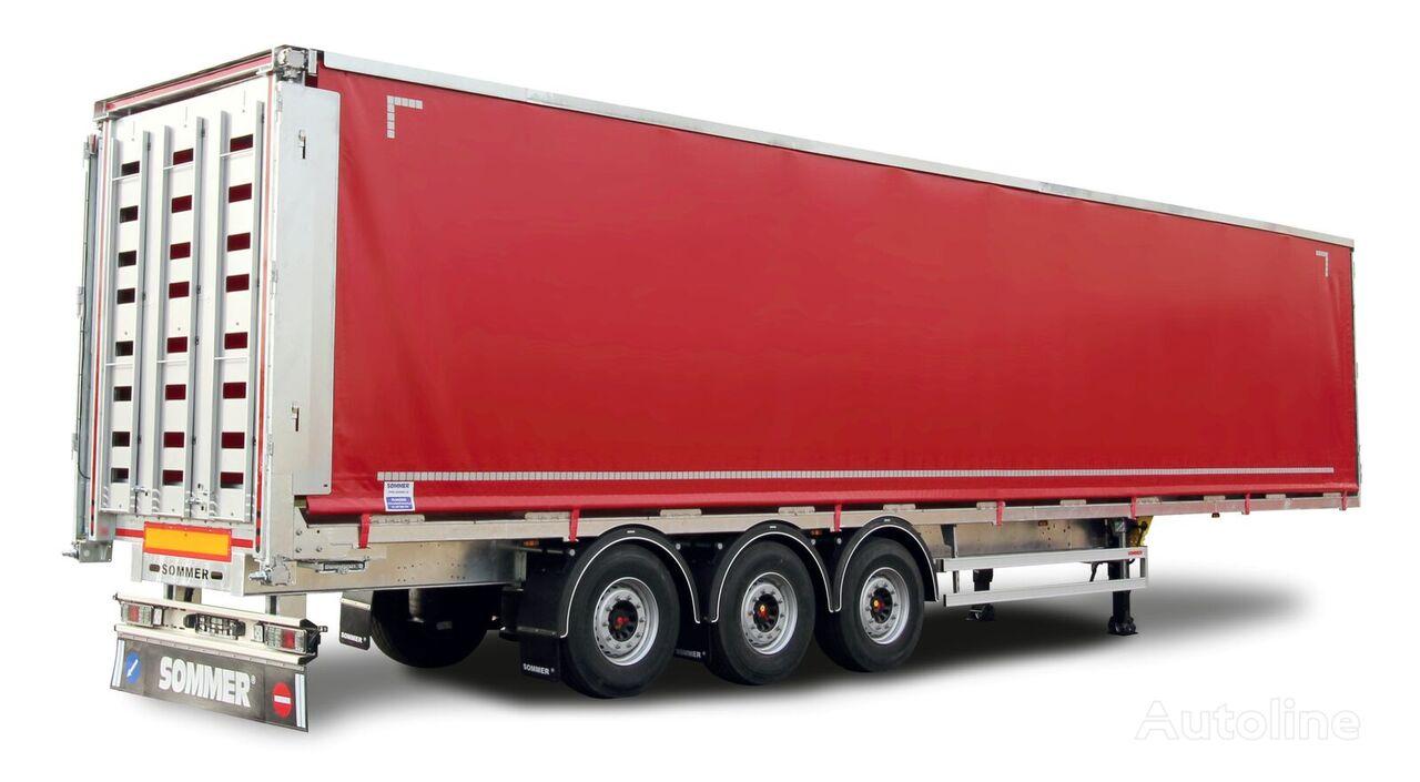 new SOMMER S3 poultry semi-trailer
