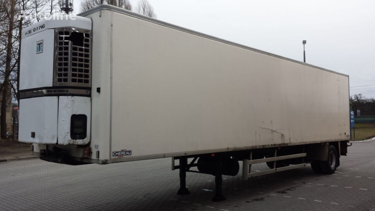 CHEREAU Tecnogam 247 Chłodnia 27EP + ThermoKing 100% sprawna ! refrigerated semi-trailer