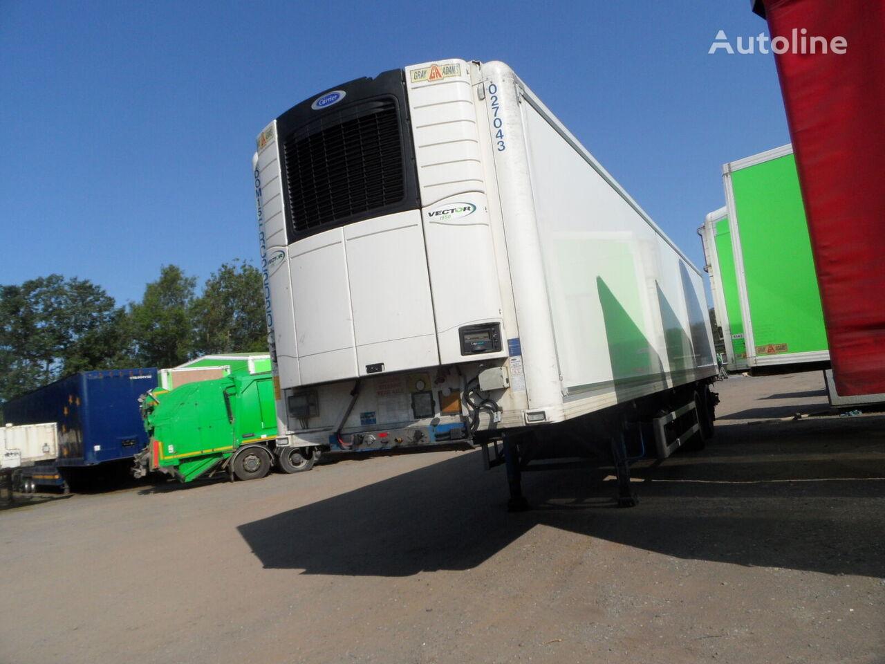 GRAY&ADAMS refrigerated semi-trailer