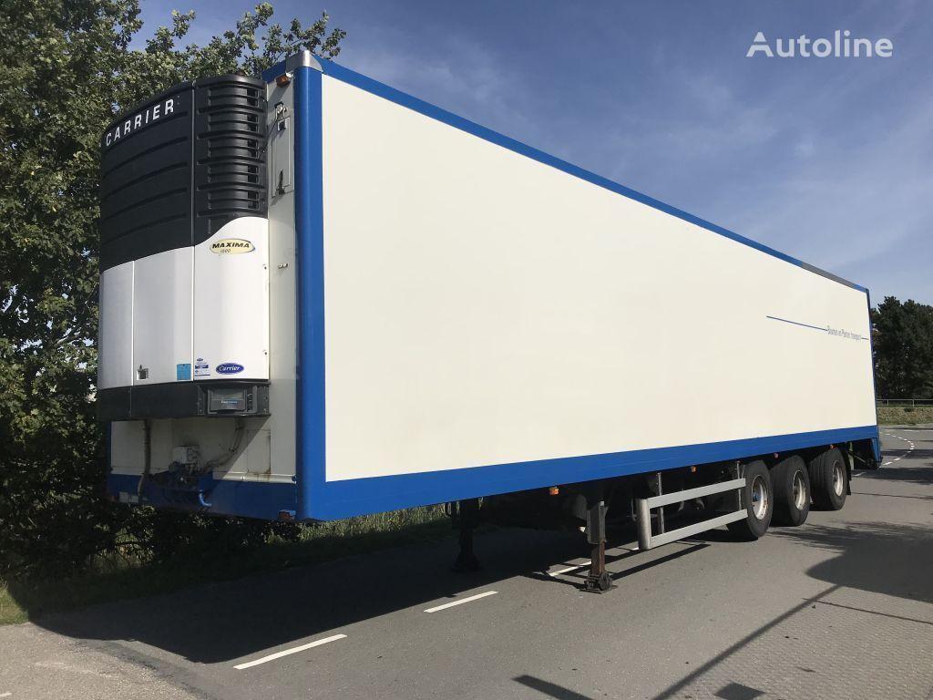 HEIWO HZP 3000kg Laadklep Stuuras + Liftas refrigerated semi-trailer