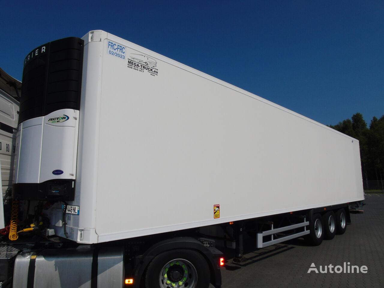 LAMBERET CARRIER VECTOR 1850 MULTITEMPERATURA WINDA/LIFT refrigerated semi-trailer
