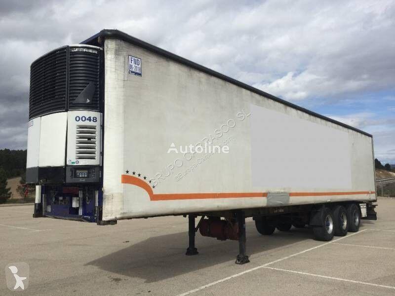 MIROFRET TRS3 3F 13 55 SN refrigerated semi-trailer
