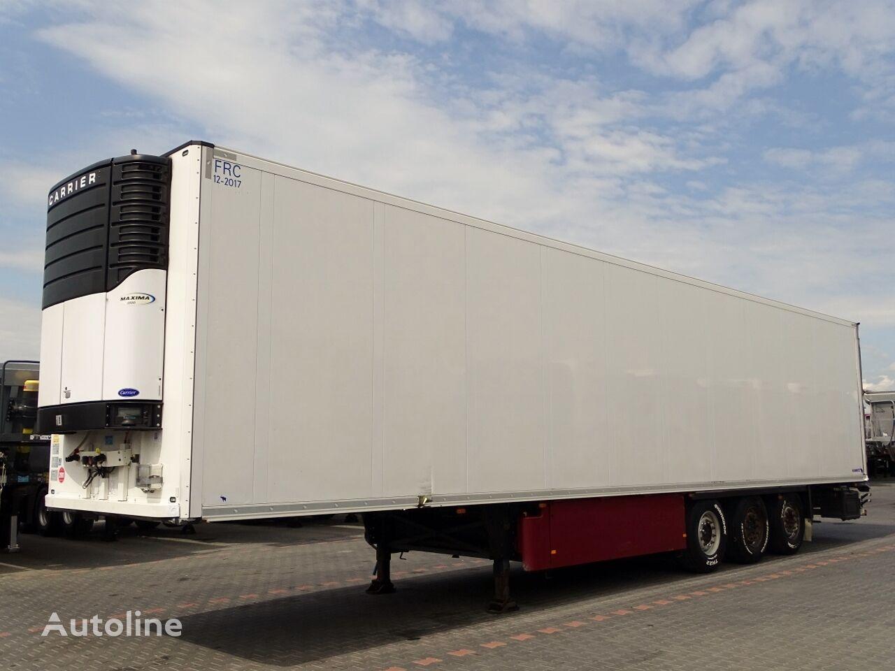 SCHMITZ CARGOBULL REFRIDGERATOR / CARRIER MAXIMA 1300 / DOPPELSTOCK / PALLET BOX / refrigerated semi-trailer