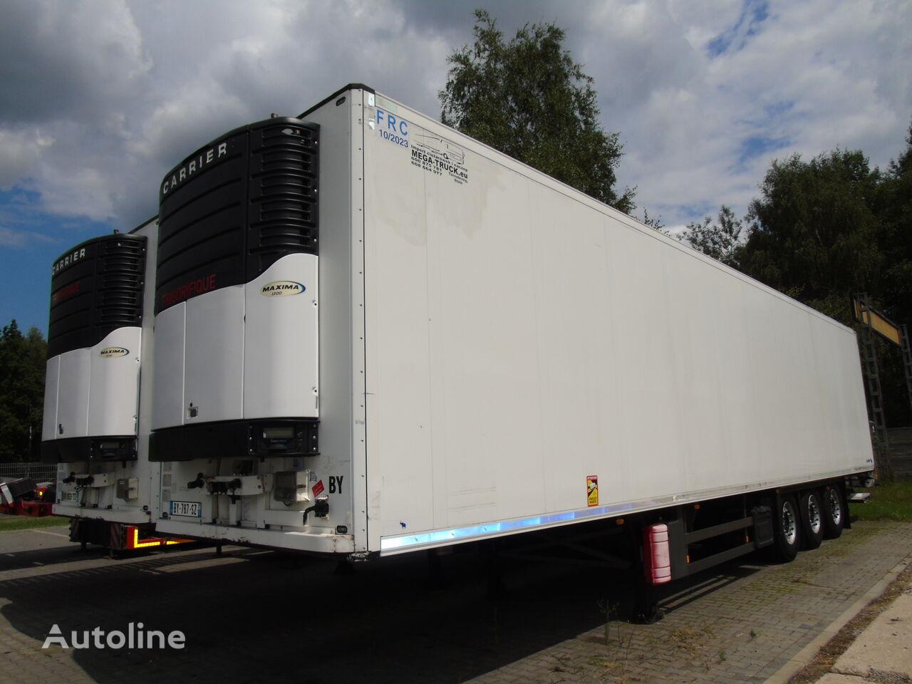 SCHMITZ CARGOBULL SKO 27 CARRIER MAXIMA 1300 WINDA 2 OSIE PODNOSZONE refrigerated semi-trailer
