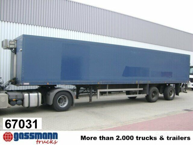 ACKERMANN VTS / 20/13.6 E refrigerated semi-trailer