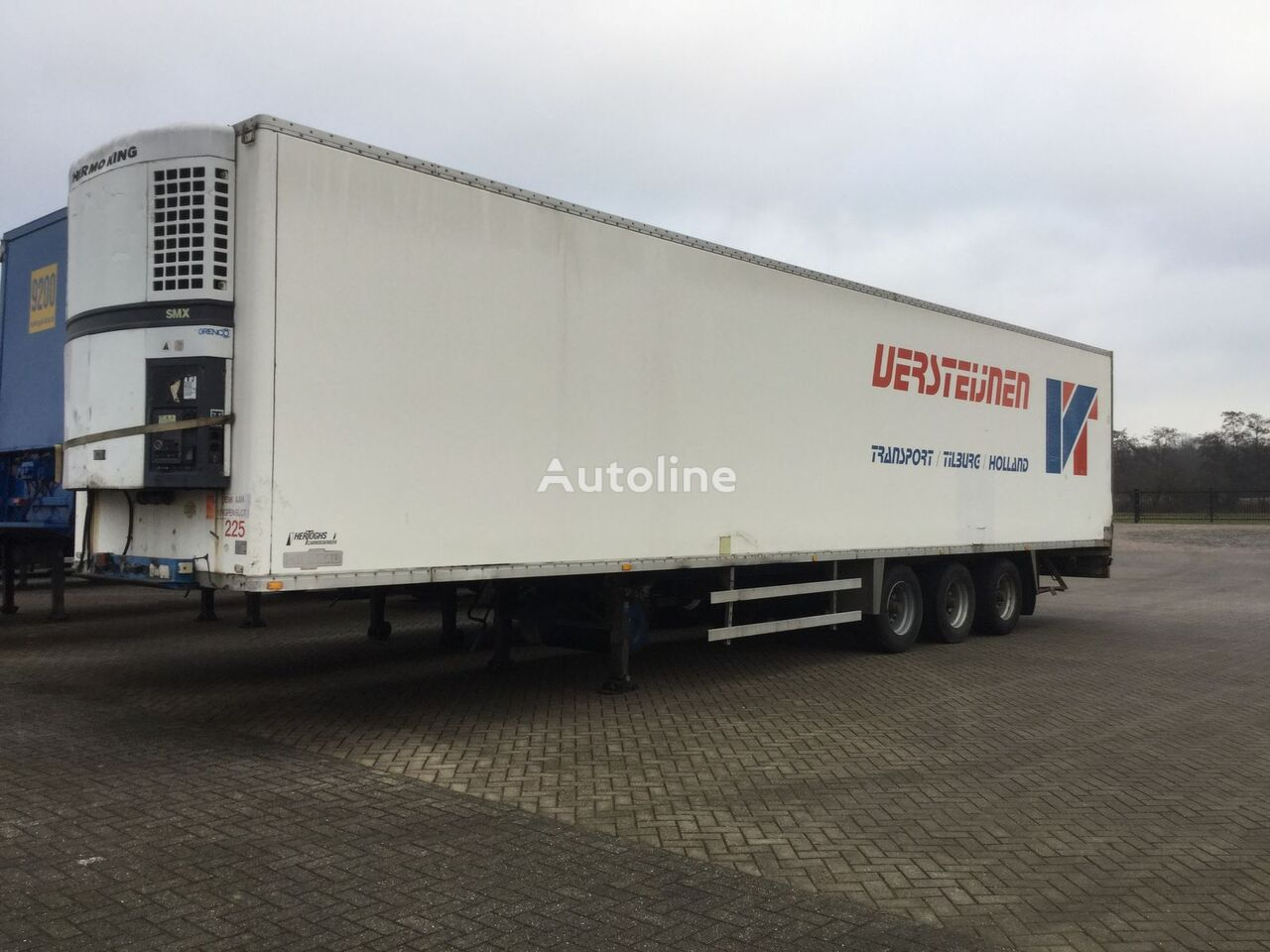 GROENEWEGEN Ro 1227 pc refrigerated semi-trailer
