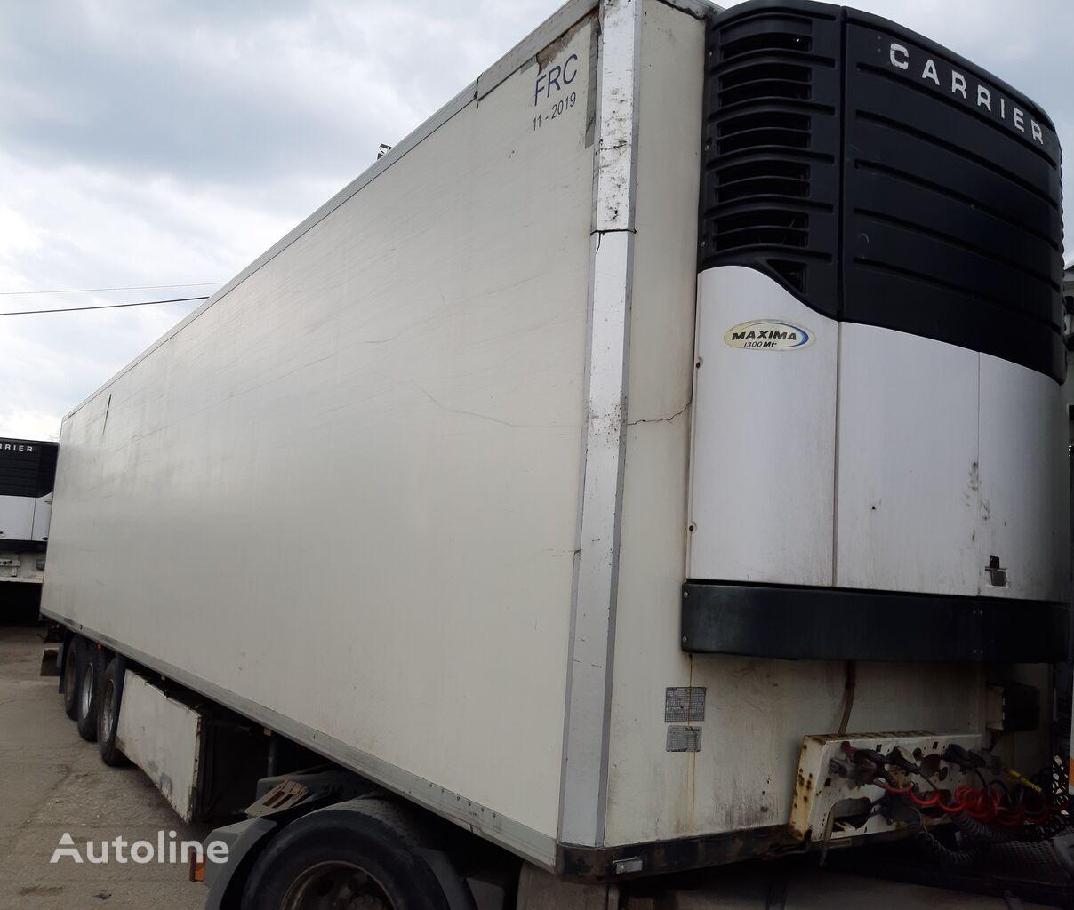 KRONE multitemp refrigerated semi-trailer